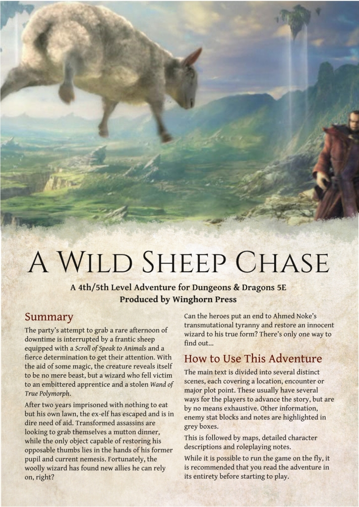 wild sheep chase essay The sooner you put the comparisons to raymond chandler out of your mind, the sooner you can come to grips with the prose of haruki murakami, especially with regard to this novel.