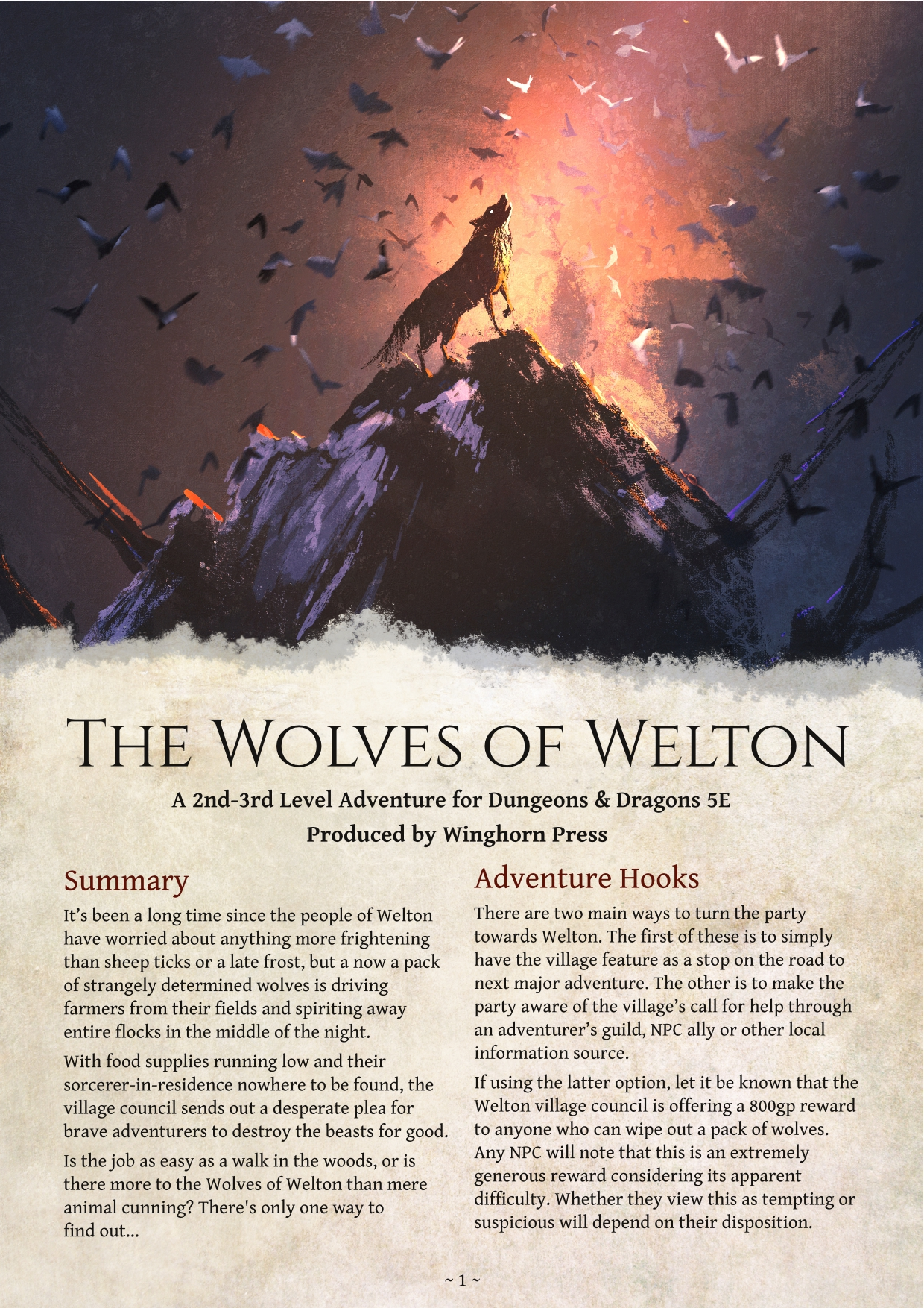 Cover of The Wolves of Welton