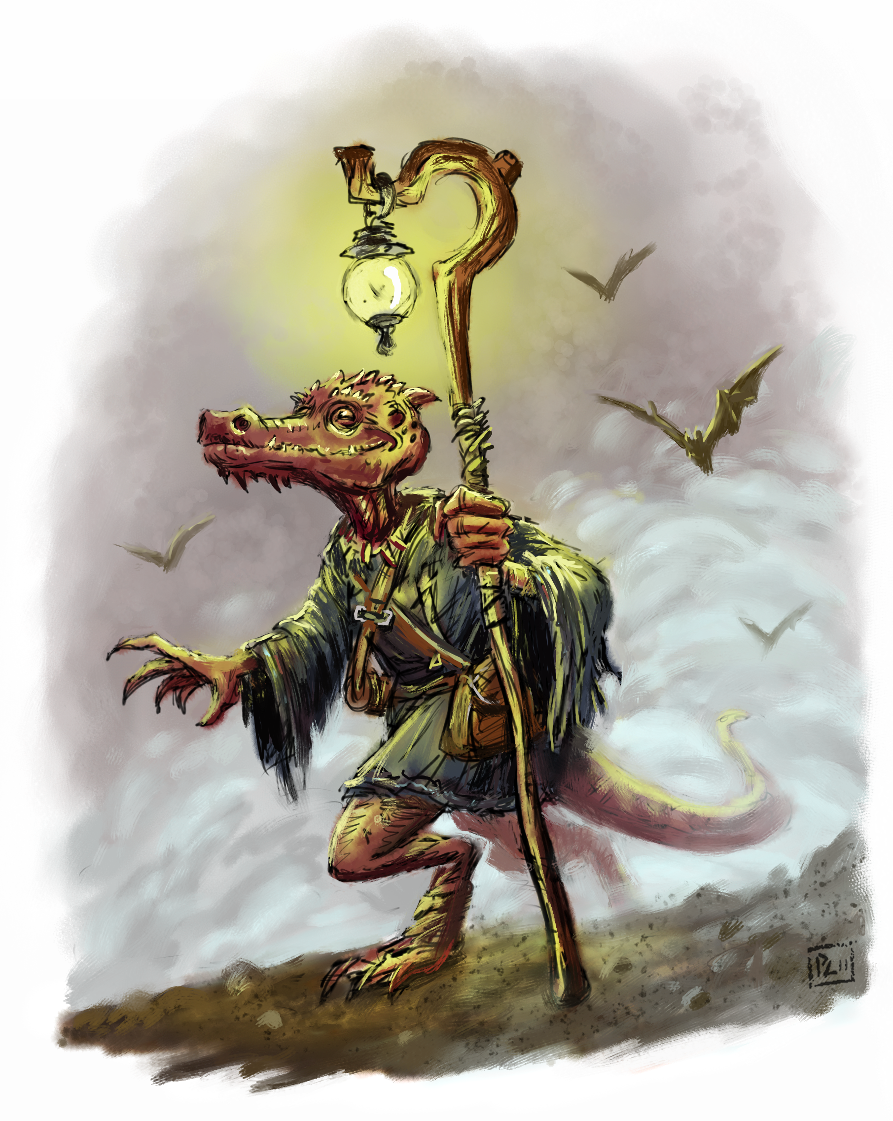 Monster – Kobold Spellcasters – Winghorn Press