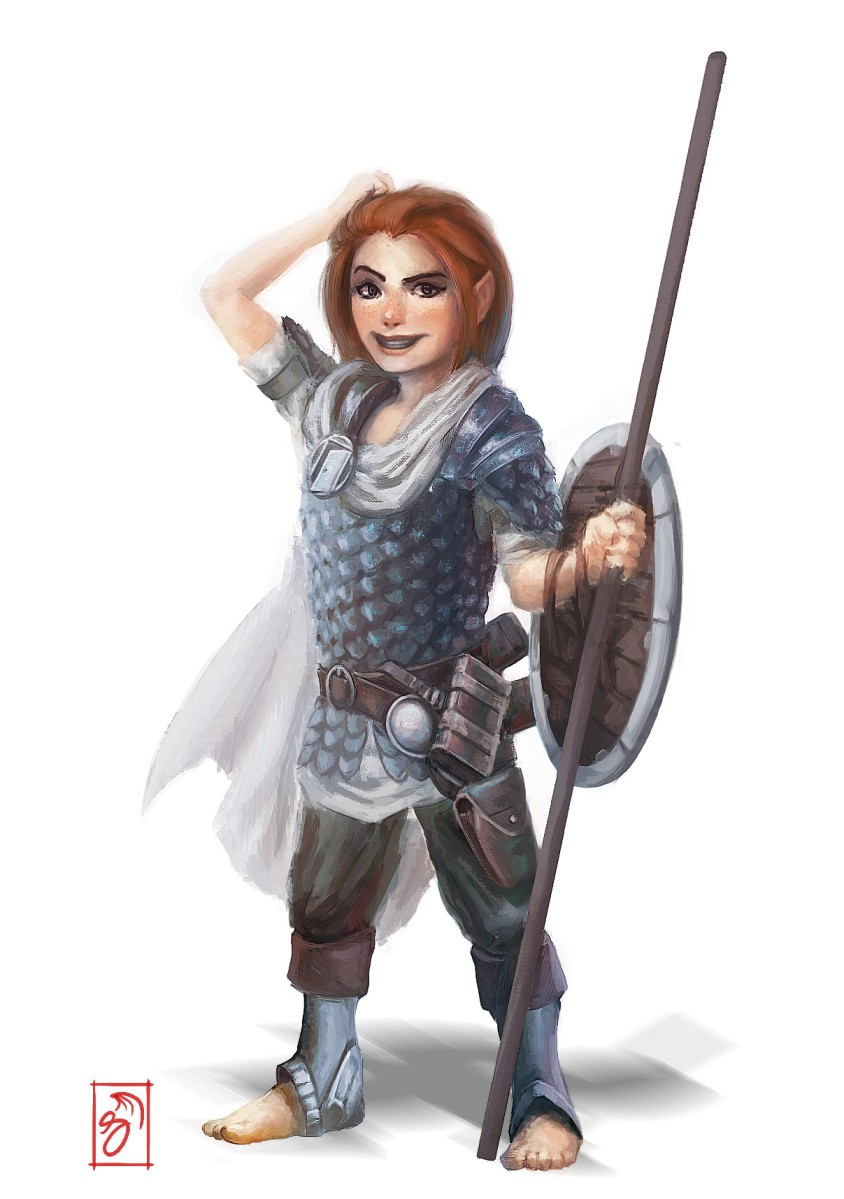 Character Craftroom – Tiny Lancer – Winghorn Press
